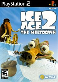 Box cover for Ice Age 2: The Meltdown on the Sony Playstation 2.