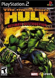 Box cover for Incredible Hulk: Ultimate Destruction on the Sony Playstation 2.