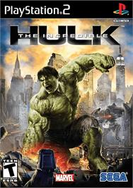 Box cover for Incredible Hulk on the Sony Playstation 2.