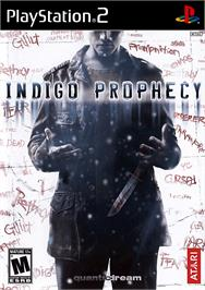 Box cover for Indigo Prophecy on the Sony Playstation 2.