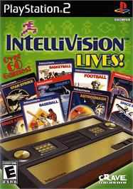 Box cover for Intellivision Lives on the Sony Playstation 2.