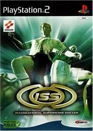 Box cover for International Superstar Soccer 2 on the Sony Playstation 2.