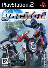 Box cover for Jacked on the Sony Playstation 2.