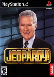 Box cover for Jeopardy on the Sony Playstation 2.