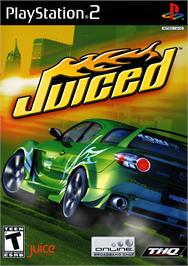 Box cover for Juiced on the Sony Playstation 2.