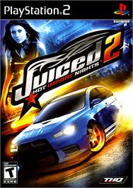 Box cover for Juiced 2: Hot Import Nights on the Sony Playstation 2.