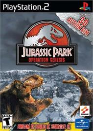 Box cover for Jurassic Park: Operation Genesis on the Sony Playstation 2.