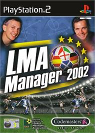 Box cover for LMA Manager 2002 on the Sony Playstation 2.