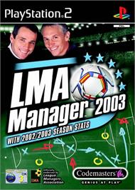 Box cover for LMA Manager 2003 on the Sony Playstation 2.