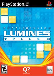 Box cover for Lumines: Puzzle Fusion on the Sony Playstation 2.