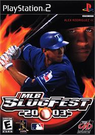 Box cover for MLB SlugFest 20-03 on the Sony Playstation 2.