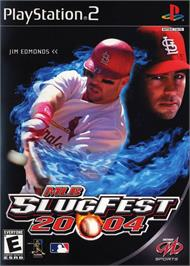 Box cover for MLB SlugFest 20-04 on the Sony Playstation 2.