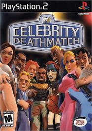 Box cover for MTV Celebrity Deathmatch on the Sony Playstation 2.