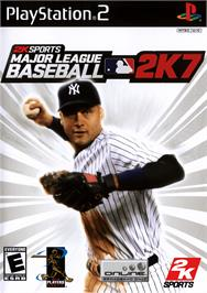 Box cover for Major League Baseball 2K7 on the Sony Playstation 2.