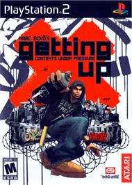 Box cover for Marc Ecko's Getting Up: Contents Under Pressure on the Sony Playstation 2.
