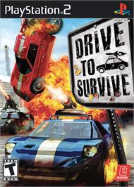 Box cover for Mashed: Drive to Survive on the Sony Playstation 2.