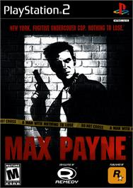 Box cover for Max Payne on the Sony Playstation 2.