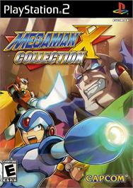 Box cover for Mega Man X Collection on the Sony Playstation 2.