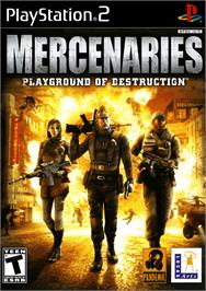 Box cover for Mercenaries: Playground of Destruction on the Sony Playstation 2.
