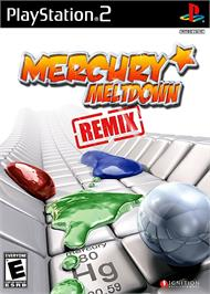 Box cover for Mercury Meltdown on the Sony Playstation 2.