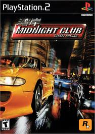 Box cover for Midnight Club: Street Racing on the Sony Playstation 2.