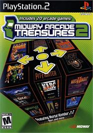 Box cover for Midway Arcade Treasures 2 on the Sony Playstation 2.