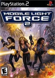 Box cover for Mobile Light Force 2 on the Sony Playstation 2.