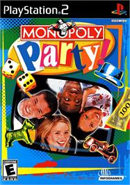 Box cover for Monopoly Party on the Sony Playstation 2.