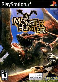 Box cover for Monster Hunter on the Sony Playstation 2.