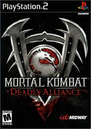 Box cover for Mortal Kombat: Deadly Alliance on the Sony Playstation 2.