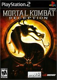 Box cover for Mortal Kombat: Deception on the Sony Playstation 2.