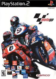 Box cover for MotoGP 2 on the Sony Playstation 2.