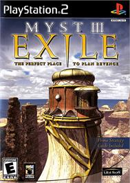 Box cover for Myst III: Exile on the Sony Playstation 2.