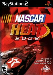 Box cover for NASCAR Heat 2002 on the Sony Playstation 2.