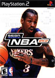 Box cover for NBA 2K2 on the Sony Playstation 2.