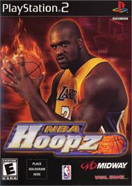 Box cover for NBA Hoopz on the Sony Playstation 2.