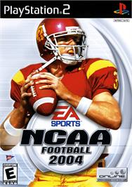 Box cover for NCAA Football 2004 on the Sony Playstation 2.