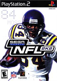 Box cover for NFL 2K2 on the Sony Playstation 2.
