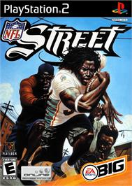 Box cover for NFL Street 3 on the Sony Playstation 2.