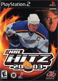 Box cover for NHL Hitz 20-03 on the Sony Playstation 2.