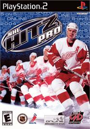 Box cover for NHL Hitz Pro on the Sony Playstation 2.