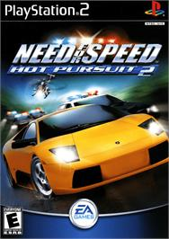 Box cover for Need for Speed: Hot Pursuit 2 on the Sony Playstation 2.