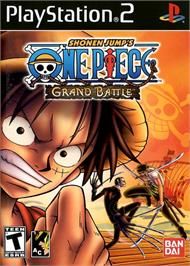 Box cover for One Piece: Grand Battle on the Sony Playstation 2.