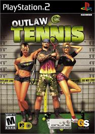 Box cover for Outlaw Tennis on the Sony Playstation 2.