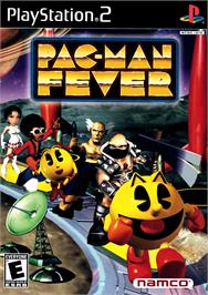 Box cover for Pac-Man Fever on the Sony Playstation 2.
