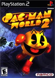 Box cover for Pac-Man World 2 on the Sony Playstation 2.