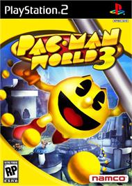 Box cover for Pac-Man World 3 on the Sony Playstation 2.