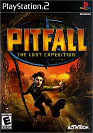 Box cover for Pitfall: The Lost Expedition on the Sony Playstation 2.