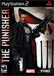 Box cover for Punisher, The on the Sony Playstation 2.