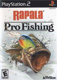 Box cover for Rapala Pro Fishing on the Sony Playstation 2.